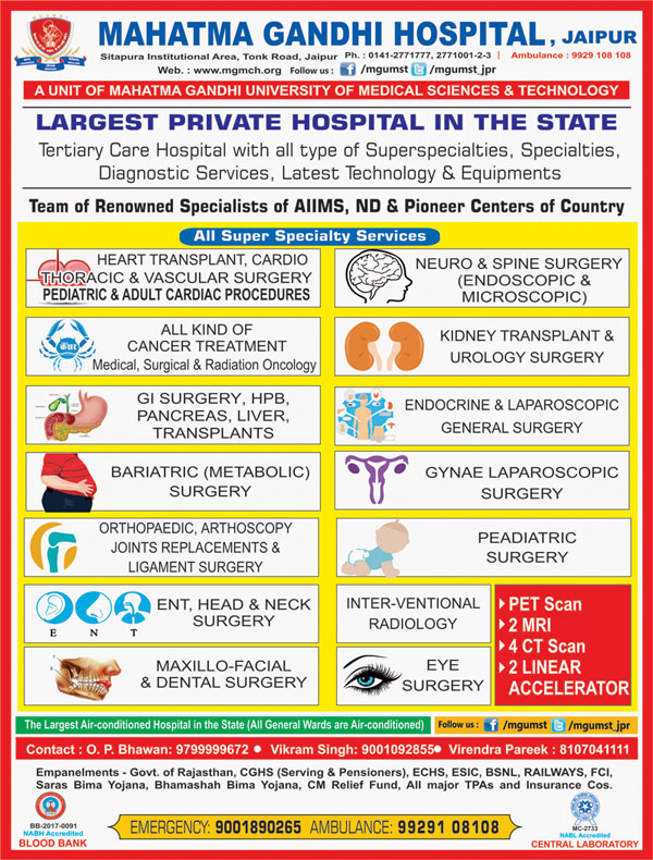 Welcome to Rajasthan Medical Directory in India